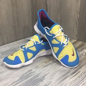 🦋 NIKE BY NADIA ID WMNS SHOES blue/yellow/white